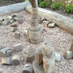 Beautiful natural materials in Phipps kids area