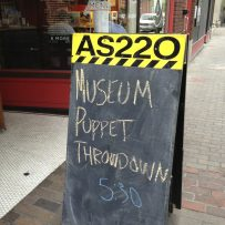 "Museum Puppet Throwdown: ""Puppets for the Planet"""