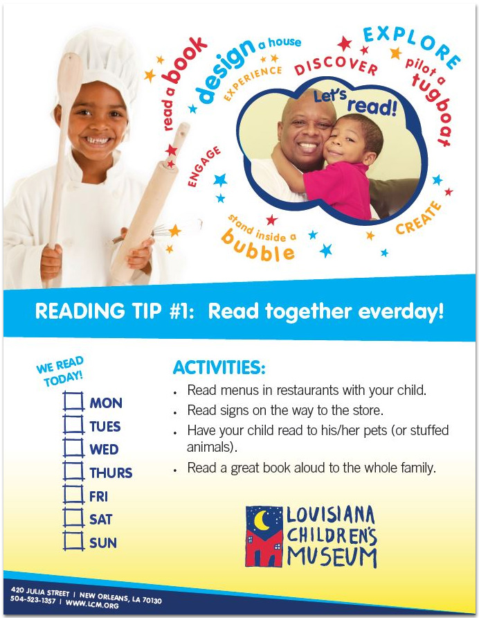 Literacy e-card sample