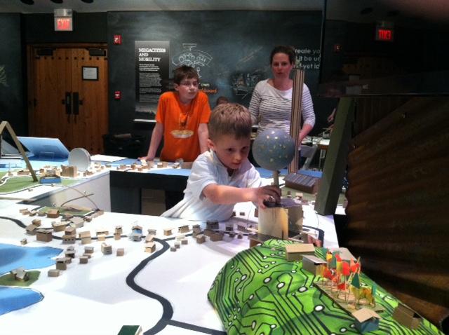 popup exhibit at Heritage Museums & Gardens