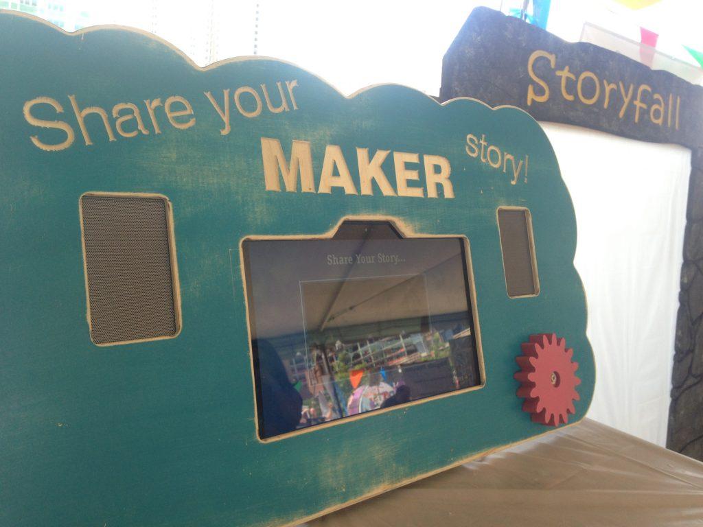 storykiosk at Boston Mini-Maker Faire