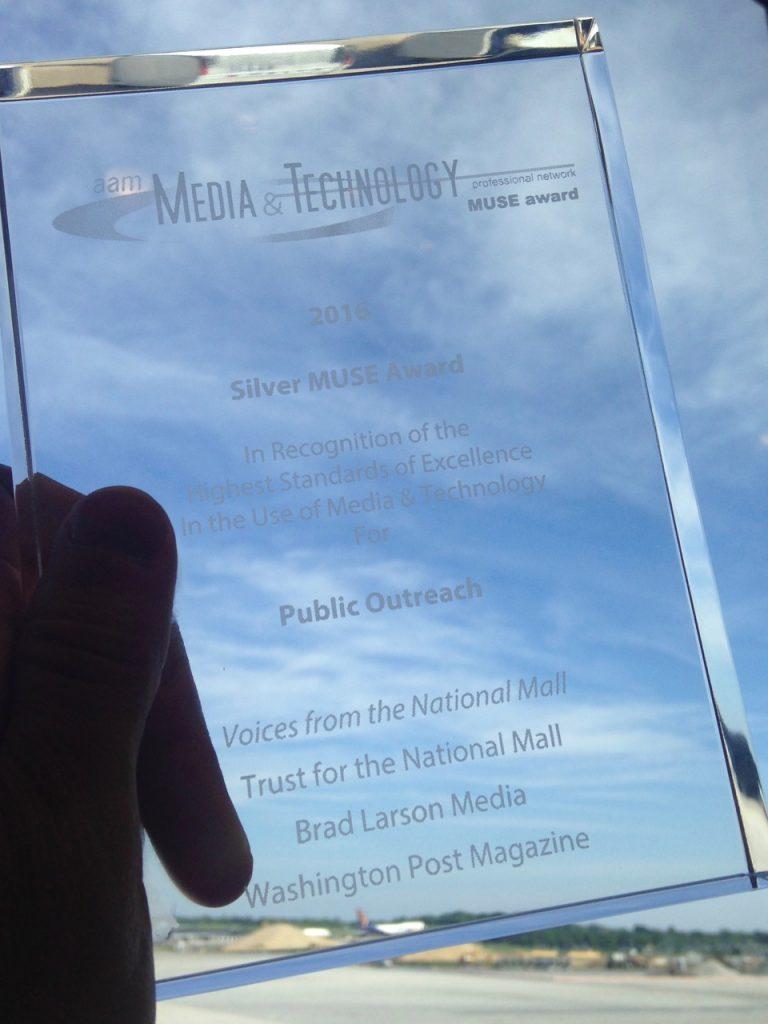 Storykiosk MUSE Award