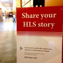 Alumni Stories: Harvard Law School Storykiosk Project