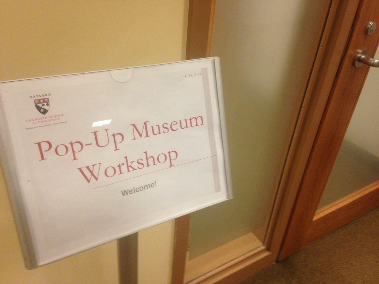 Popup Exhibit Tryout: Harvard Extension School - bradlarson com