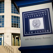 Storykiosk for Georgetown Law 150th Anniversary